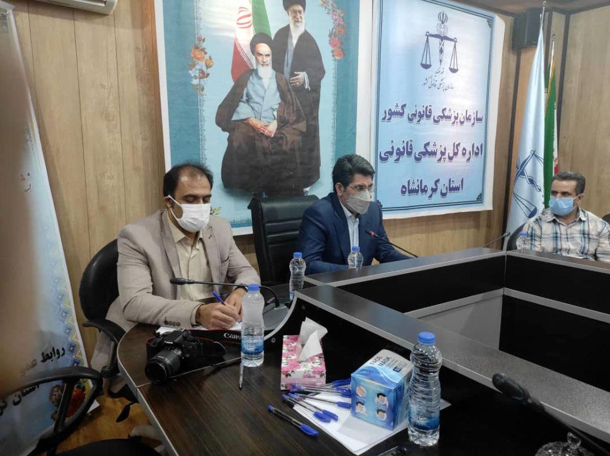 بانک اطلاعاتی ژنتیک بیش از ۱۰ هزار مجرم سابقه دارد در کرمانشاه ثبت شده است