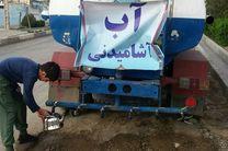 قطعی آب در برخی مناطق کرج/آبرسانی با تانکر انجام میشود