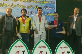 رکابزن محمودآبادی صاحب 3 مدال برنز شد