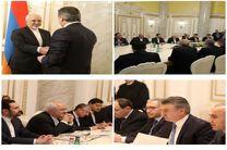 ظریف با نخستوزیر ارمنستان در ایروان رایزنی کرد