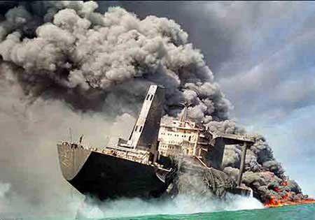 چینی ها به ابهامات نفتکش سانچی پاسخ دادند