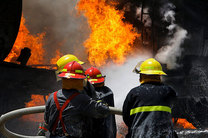 کاهش ۲۹ درصد آتش سوزی های مهر ماه نسبت به سال گذشته در کاشان