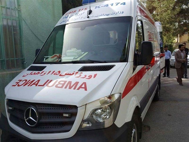 2 دستگاه آمبولانس از استان یزد  در شهر کربلا مستقر شدند