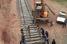 عملیات اجرایی پروژه راه آهن کرمان – سیرجان آغاز شد