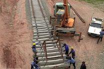 ساخت راه آهن قزوین-رشت در مراحل پایانی کار خود قرار دارد