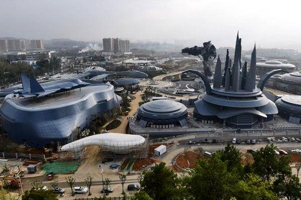 پکن پارک واقعیت مجازی ساخت