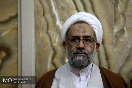 ختم مادر شهیدان طهرانی مقدم/حیدر مصلحی وزیر پیشین اطلاعات