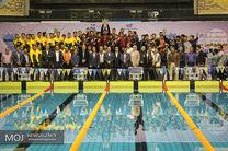 بانک حکمت ایرانیان در مسابقات لیگ شنای کشور پنجم شد