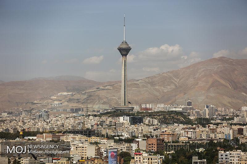 کیفیت هوای تهران در 20 فروردین 98 سالم است
