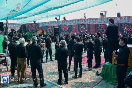 عزاداری ظهر عاشورای حسینی در اصفهان