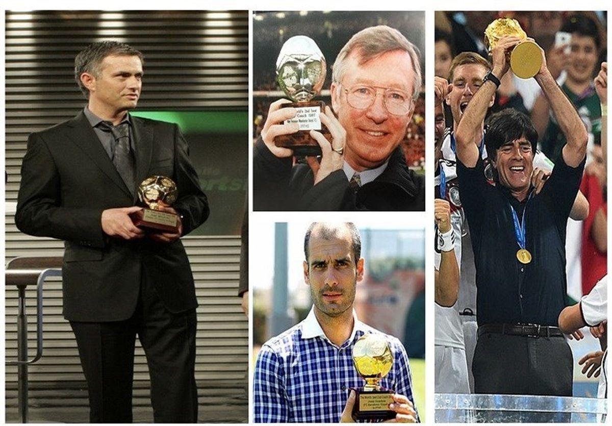 رده بندی بهترین مربیان جهان در قرن 21/ مورینیو بهترین مربی شد
