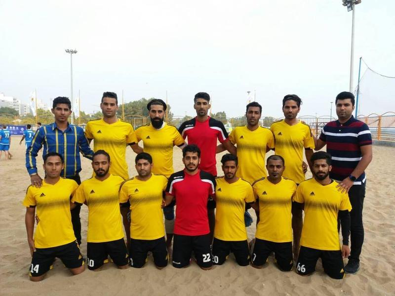 تیم فوتبال ساحلی فولاد بندرعباس بر سکوی قهرمانی ایستاد