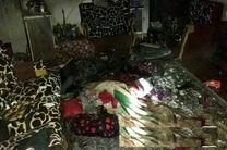 نجات دو کودک ۴ و ۱۰ ساله توسط آتش نشانان رشت