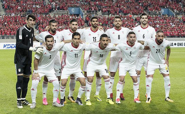 تمرین ریکاوری تیم ملی فوتبال ایران برگزار شد
