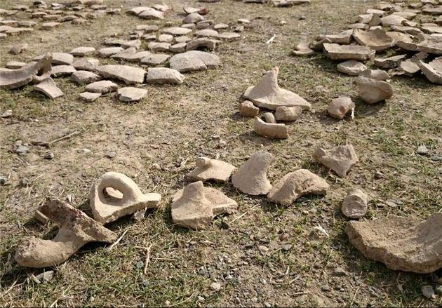 400 اثر تاریخی در محوطه باستانی شهرستان ریگان شناسایی شد