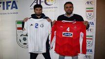رونمایی از پیراهن پرسپولیس و پاختاکور در لیگ قهرمانان آسیا