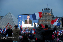 تلویزیون فرانسه: ماکرون به روحانی تبریک گفت