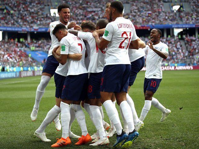 برتری انگلیس مقابل پاناما در نیمه نخست