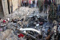 تروریست ها مناطق مسکونی دمشق را هدف موشک قرار دادند / ۸ تن کشته شدند