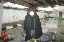 سارق زن نما در رشت دستگیر شد