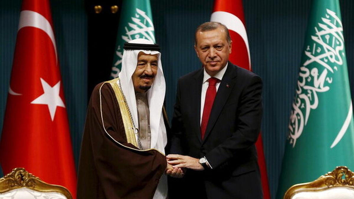 گفتگوی تلفنی اردوغان و پادشاه عربستان درباره اجلاس جی ۲۰