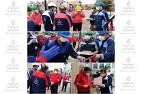 افتتاح مخزن اورهال شده توسط یکی از کارگران