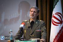 وزیر دفاع: دامنه تهدیدات هر روز و به انحاء گوناگون در حال تغییر است