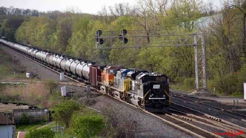 """کاهش 14 درصدی زمان توقف قطارهای کشورهای """"CIS"""" در ایران"""