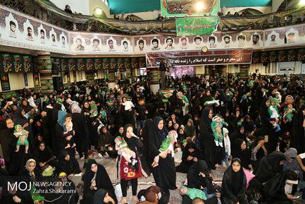 مراسم همایش شیرخوارگان حسینی در بندر عباس