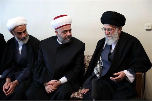 وزیر اوقاف سوریه با رهبر انقلاب اسلامی دیدار کرد