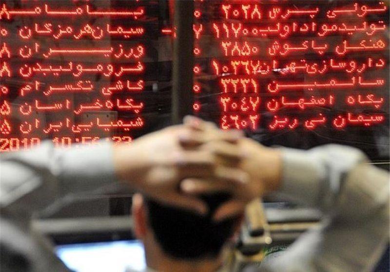 توقف رشد بازار بورس
