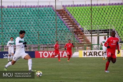 دیدار تیم های فوتبال ذوب آهن ایران و آیزاول هند