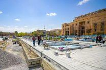 پیشرفت 72 درصدی پروژه ساماندهی میدان امام حسین (ع) اصفهان