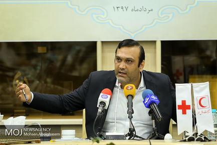 نشست خبری دبیر کل جمعیت هلال احمر ایران