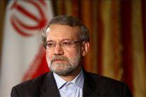 لاریجانی از پروژه آزاد راه تهران- شمال بازدید کرد