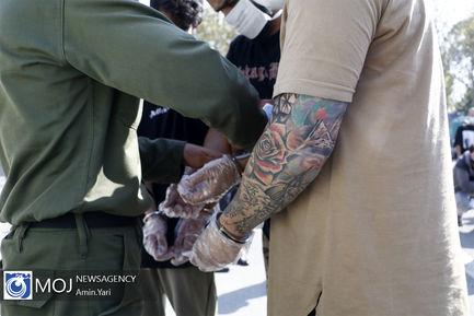 پنجمین مرحله از طرح دستگیری با اراذل و اوباش