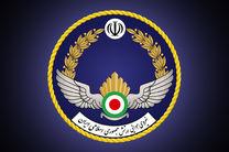 تمرین هوایی جنگنده های ارتش برگزار شد
