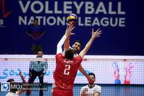 گزارش بازی والیبال ایران و روسیه/ ایران 3 روسیه 0