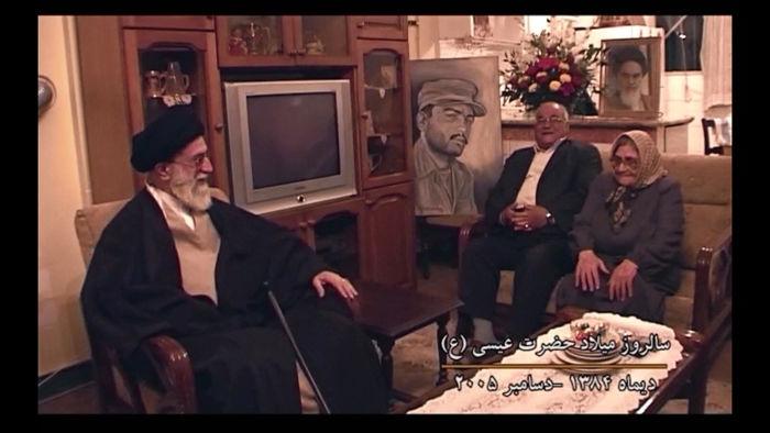 """روایت حضور رهبر انقلاب در منزل شهید ارمنی در مستند """"سرباز واهیک"""""""