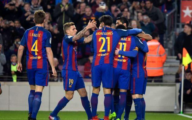 پیش بازی بارسلونا - خیخون