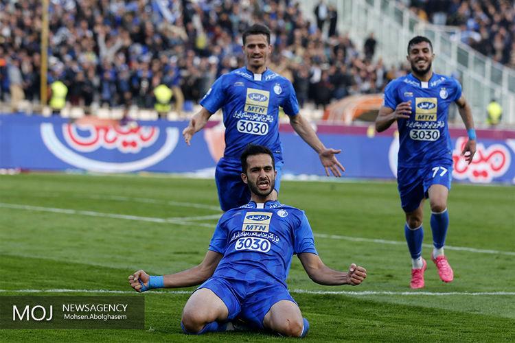 برد یک نیمه ای استقلال مقابل فولاد خوزستان