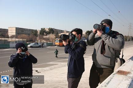 بازدید اصخاب رسانه از بزرگراه شهید نجفی رستگار