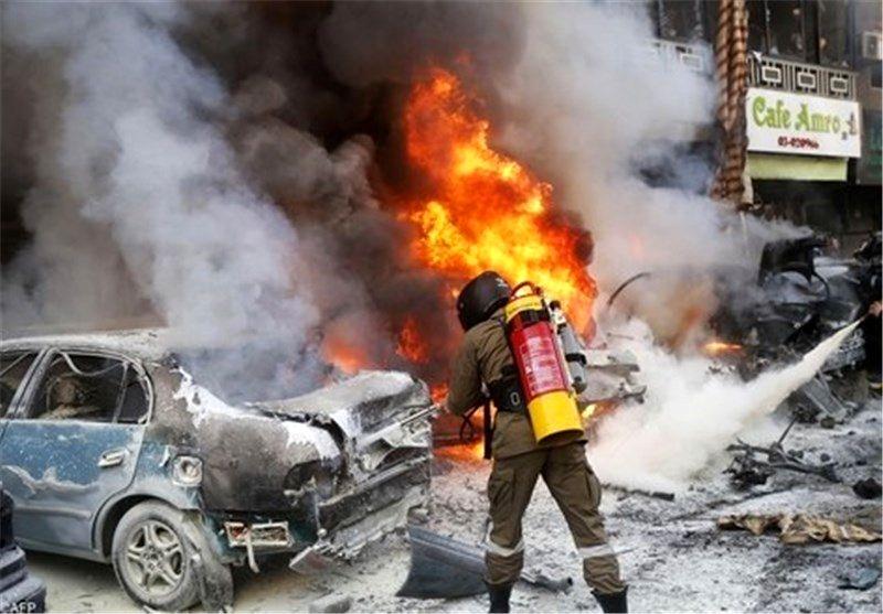 انفجار گاز ال پی جی در شهرک کیهان شهر کرمانشاه