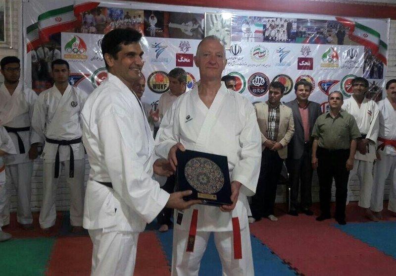 سفیر صلح و دوستی اروپا مربیان کاراته ایران را روی تاتامی به خط کرد