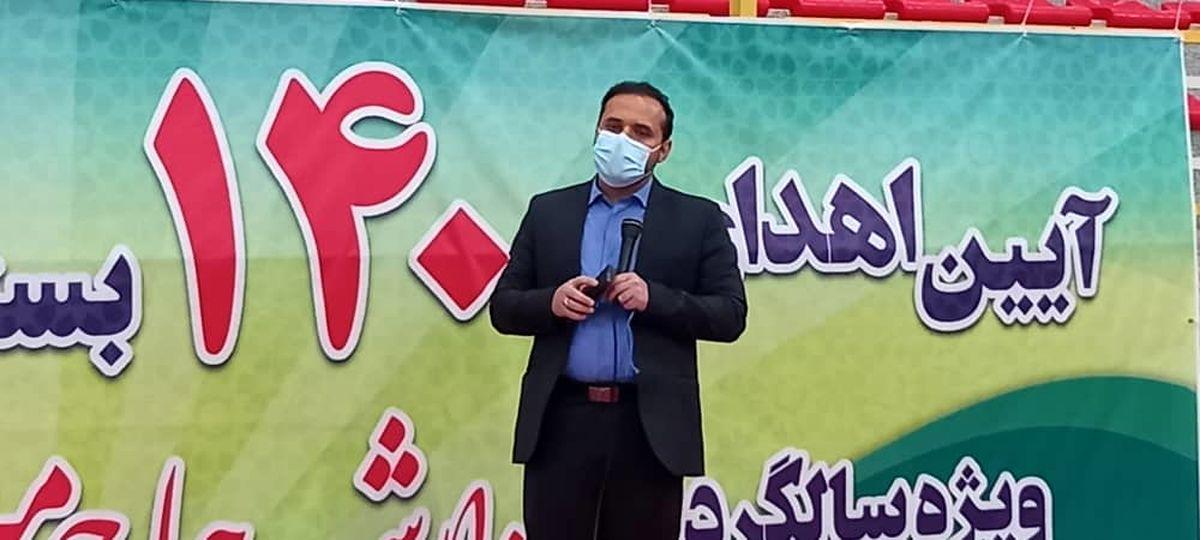 توزیع 1400 بسته معیشتی و اهدای 14 جهیزیه در گرامیداشت سالگرد شهادت حاج میرزا محمد سلگی