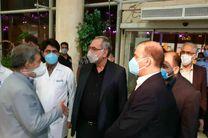 سفر بهرام عیناللهی، وزیر بهداشت به خراسان رضوی