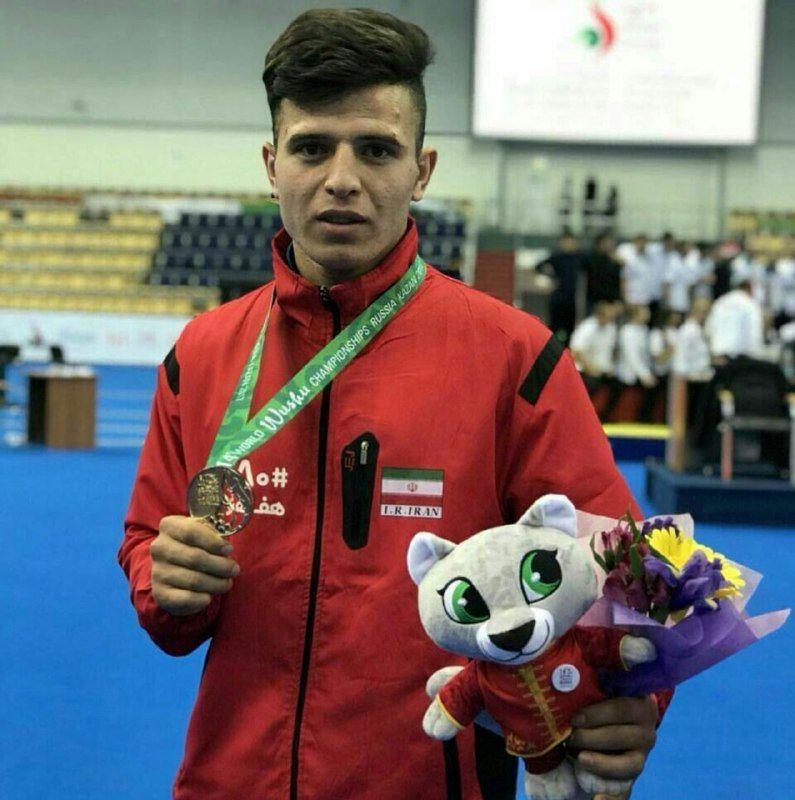 ووشو کار اردبیلی در مسابقات انتخابی تیم ملی در جایگاه نخست ایستاد