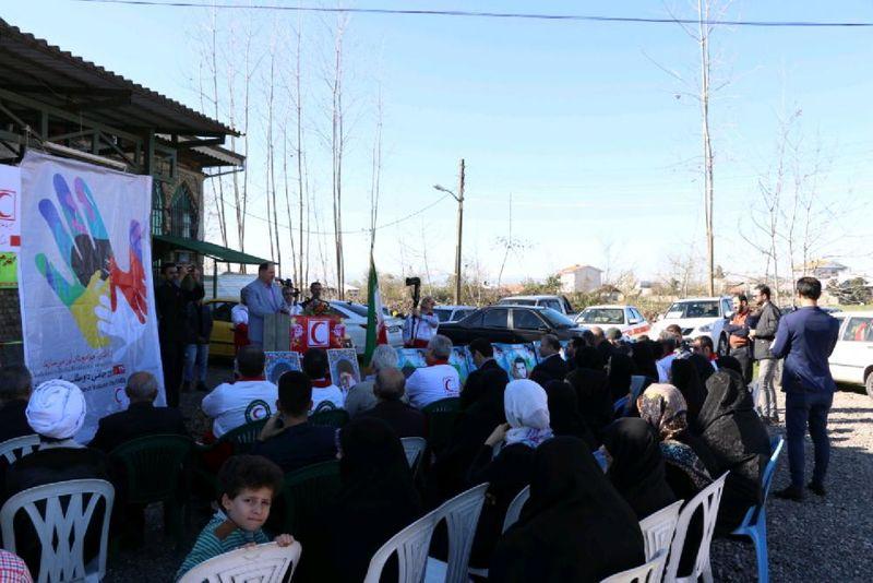 افتتاح بیست و هفتمین خانه هلال در روستای کماکل رشت