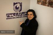 حضور سامان احتشامی در خبرگزاری موج