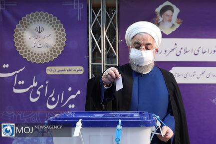 مشارکت مقامات و مسئولین در انتخابات ۱۴۰۰